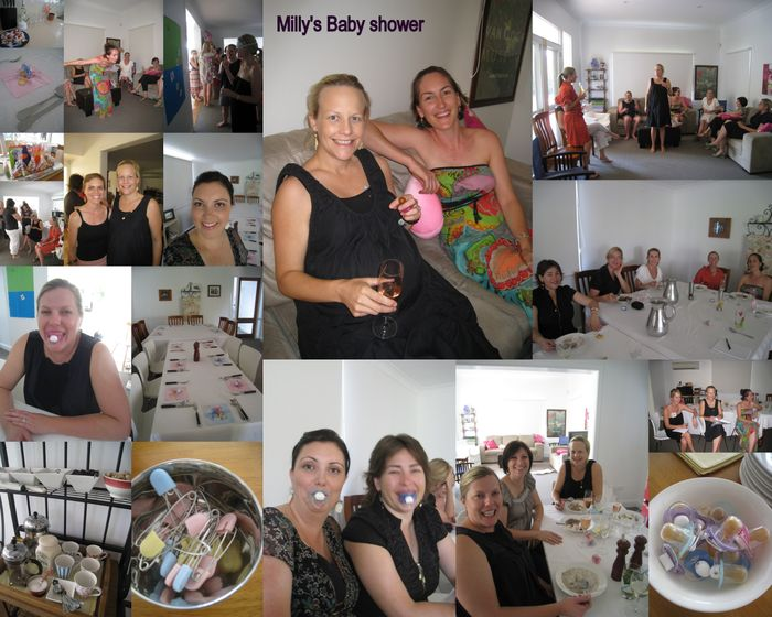 Millys baby shower