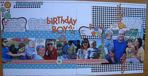 Birthday boy x2